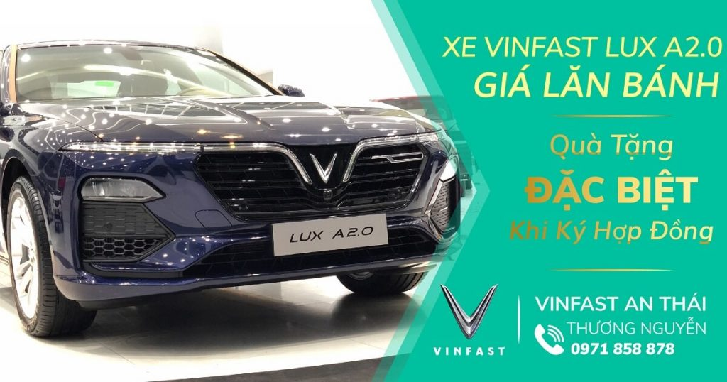 Gia Xe Vinfast Lux A2.0
